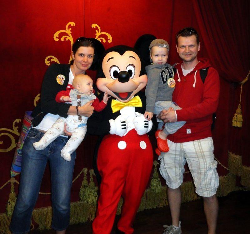 Z wizytą w Disneyworld