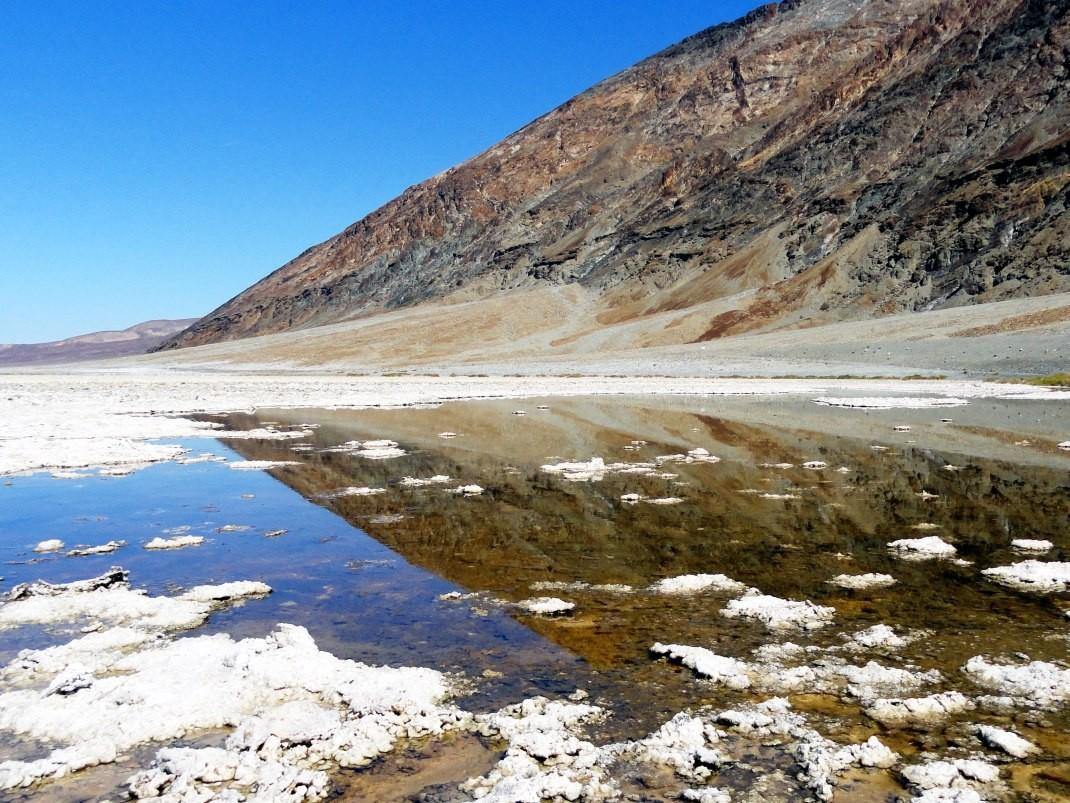 Dolina Śmierci. Badwater Basin