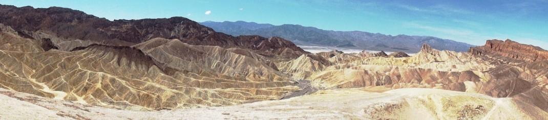 Dolina Śmierci. Zabriskie Point