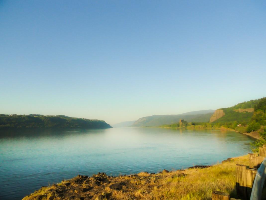 Atrakcje Oregonu. Rzeka Kolumbia