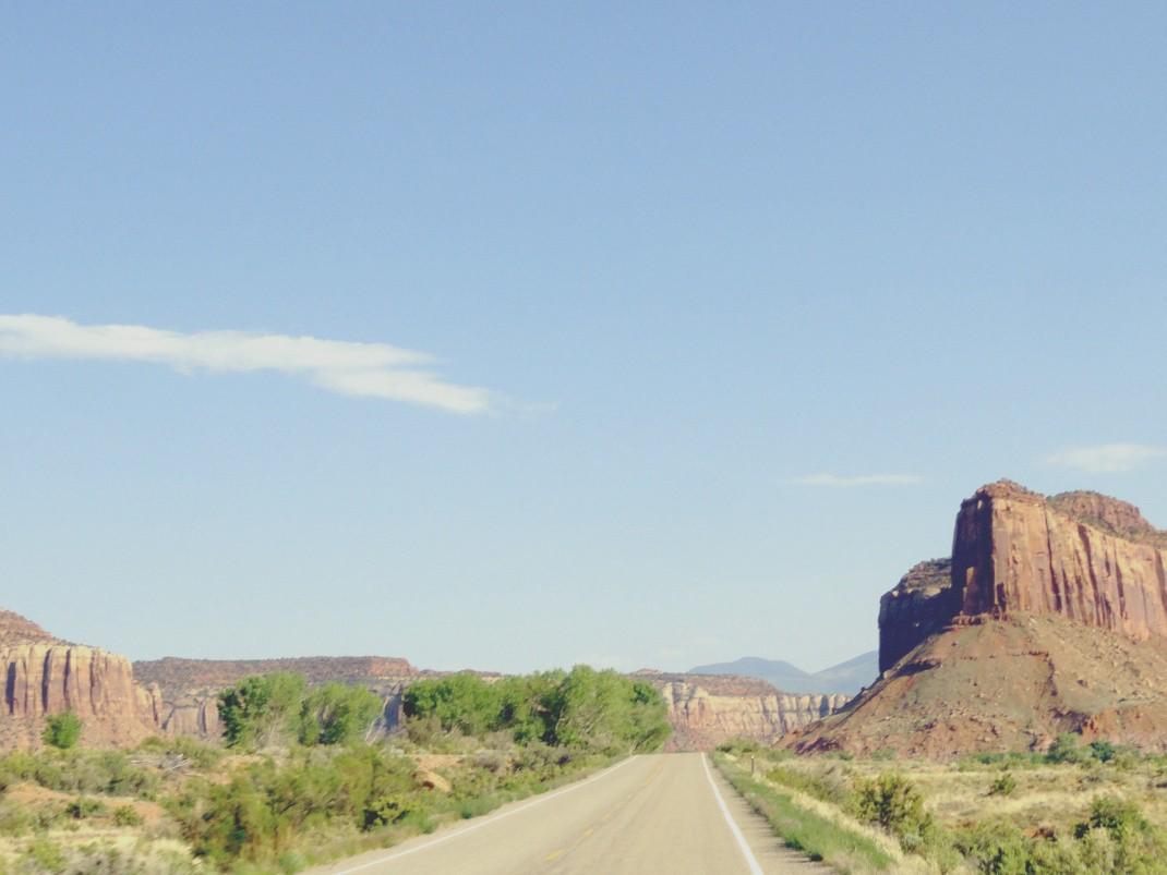 Droga z Moab do The Needles