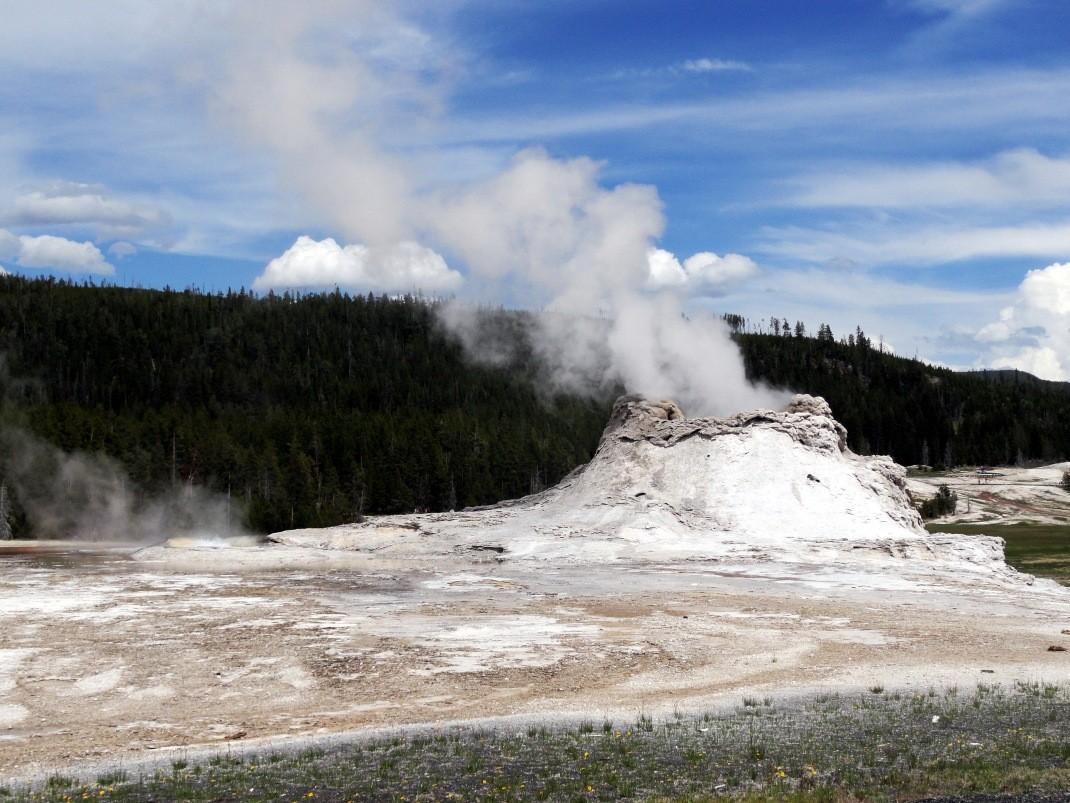 Zwiedzanie Yellowstone