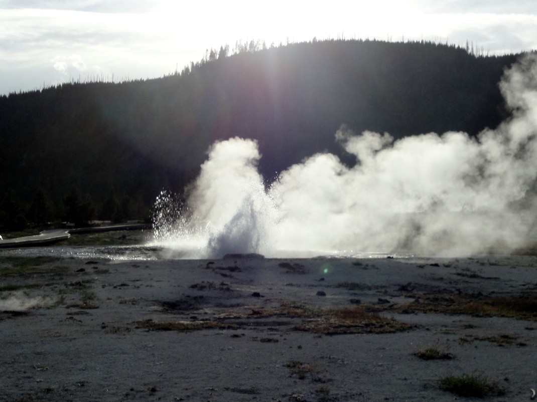 Gejzer w Yellowstone