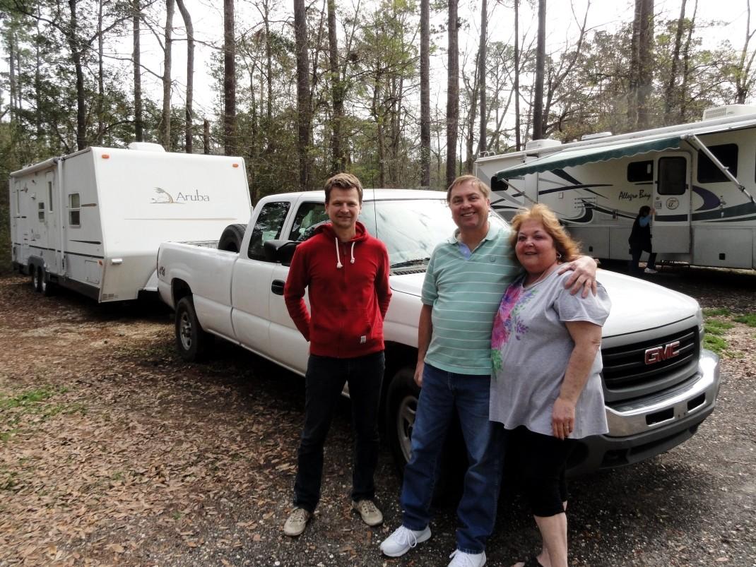 Z Malcolmem i Terry w Luizjanie