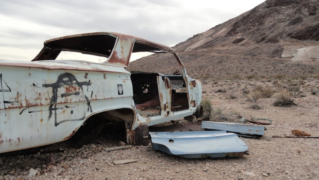 Samochód widmo, Nevada, USA