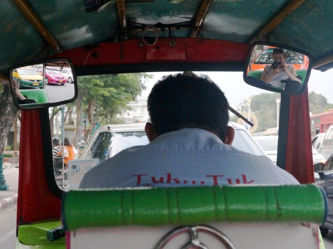 Bangkok, tuk-tuk
