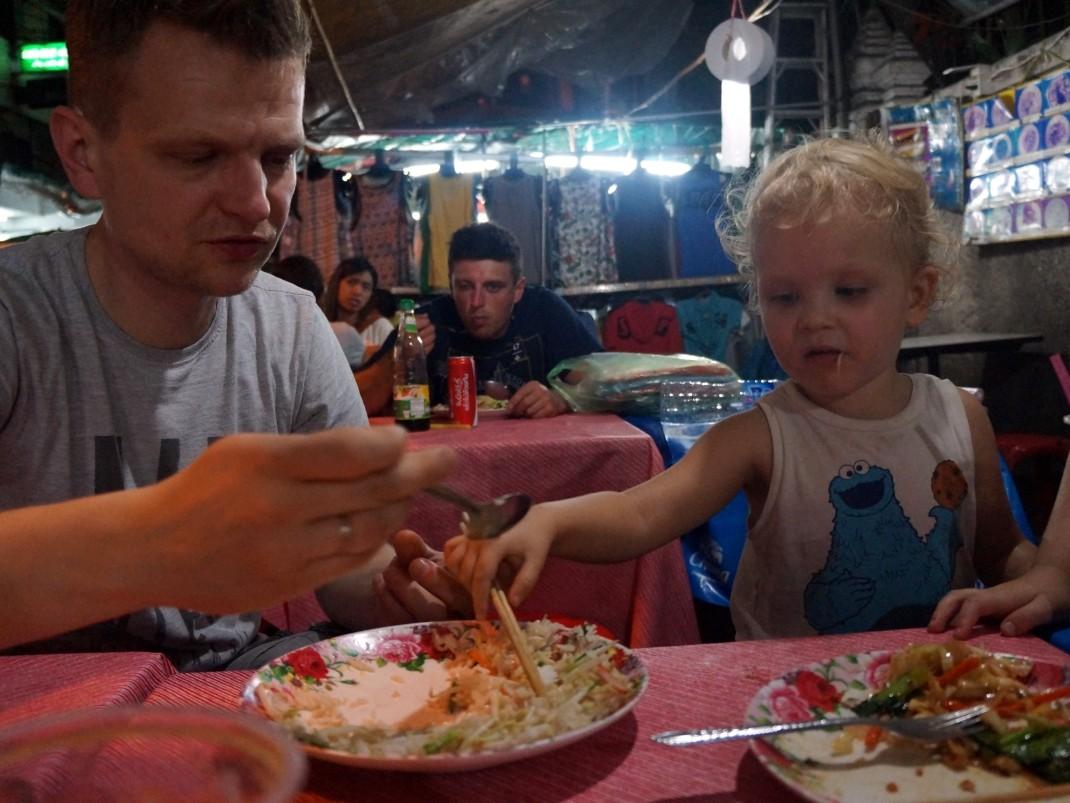 Bangkok. Jedzenie uliczne