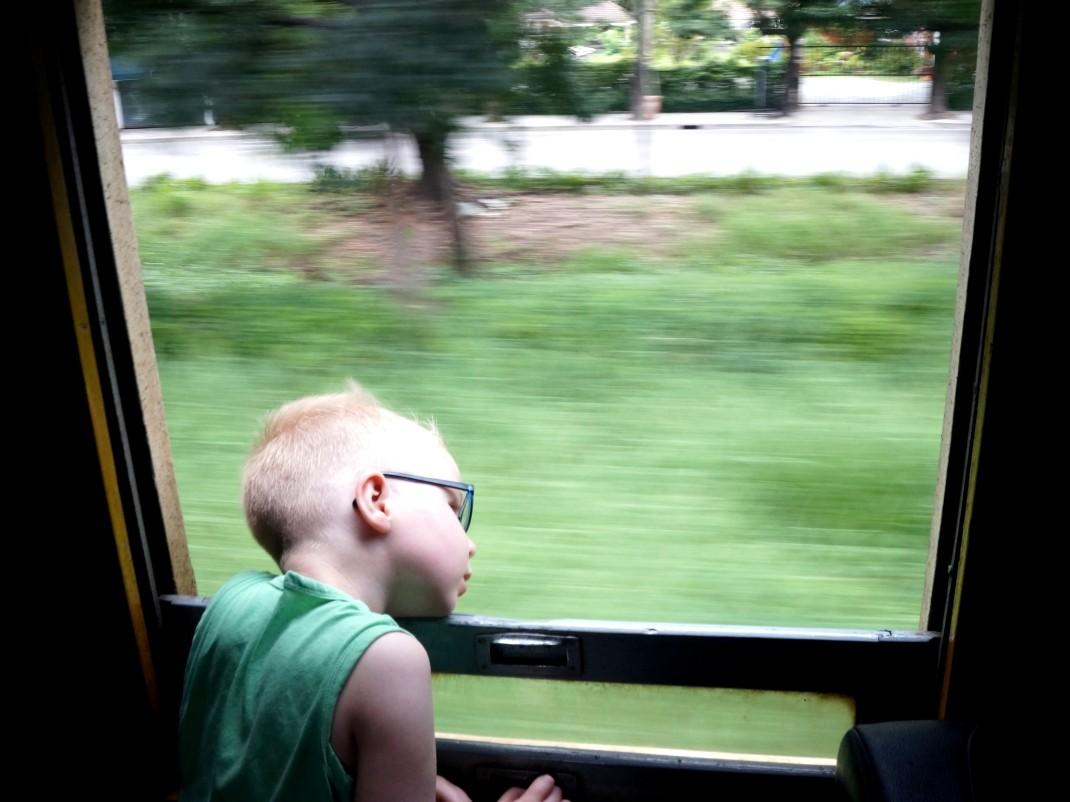 Z dzieckiem w pociągu da radę