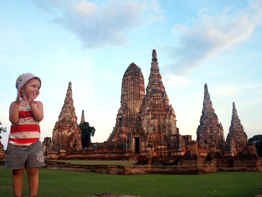 Ayutthaya – pieszo, rowerowo, skuterowo
