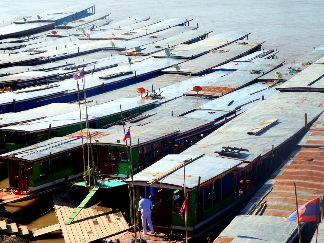 W oczekiwaniu na rejs po Mekongu