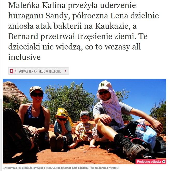 Osiem stóp w iwoman.pl
