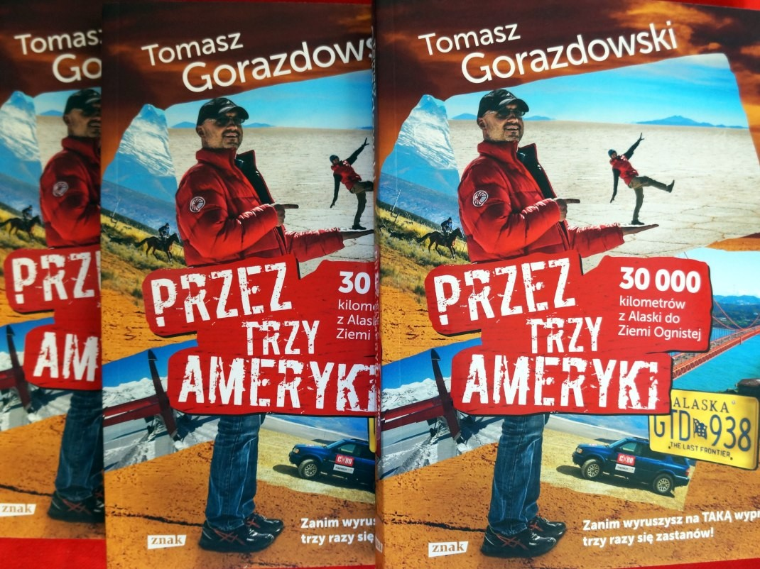 Przez Trzy Ameryki z Tomaszem Gorazdowskim + konkurs!