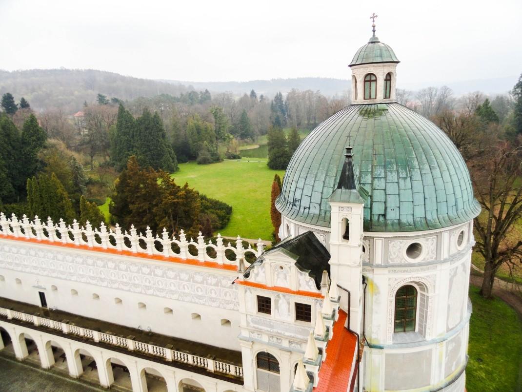 Zamek w Krasiczynie: perła doliny Sanu