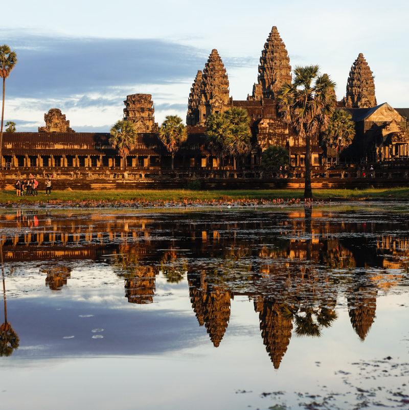 Zobaczyć Angkor Wat (na rowerze) i przeżyć