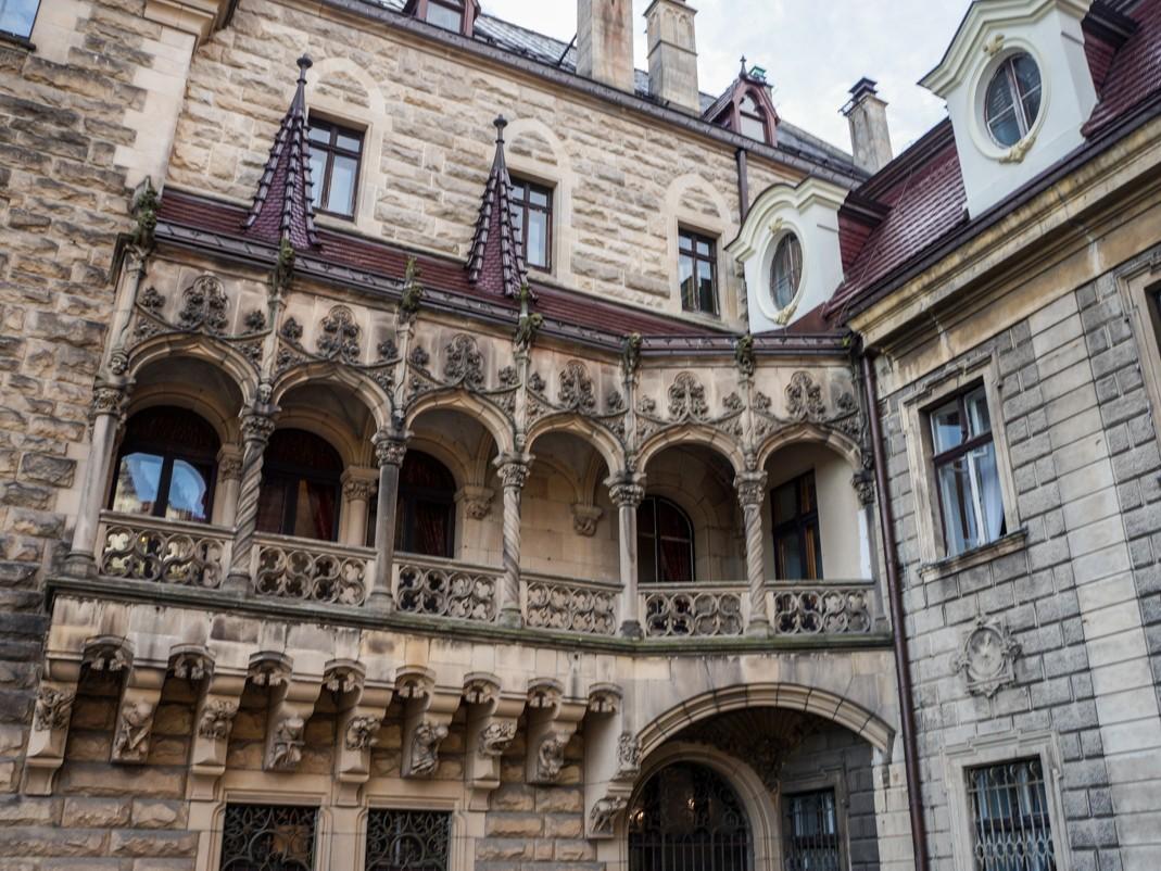 Zamek w Mosznej. Galeria skrzydła wschodniego