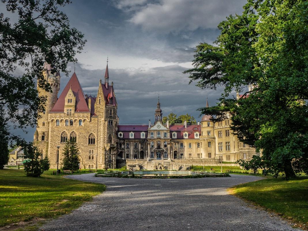 Zamek w Mosznej – bajka pod Opolem
