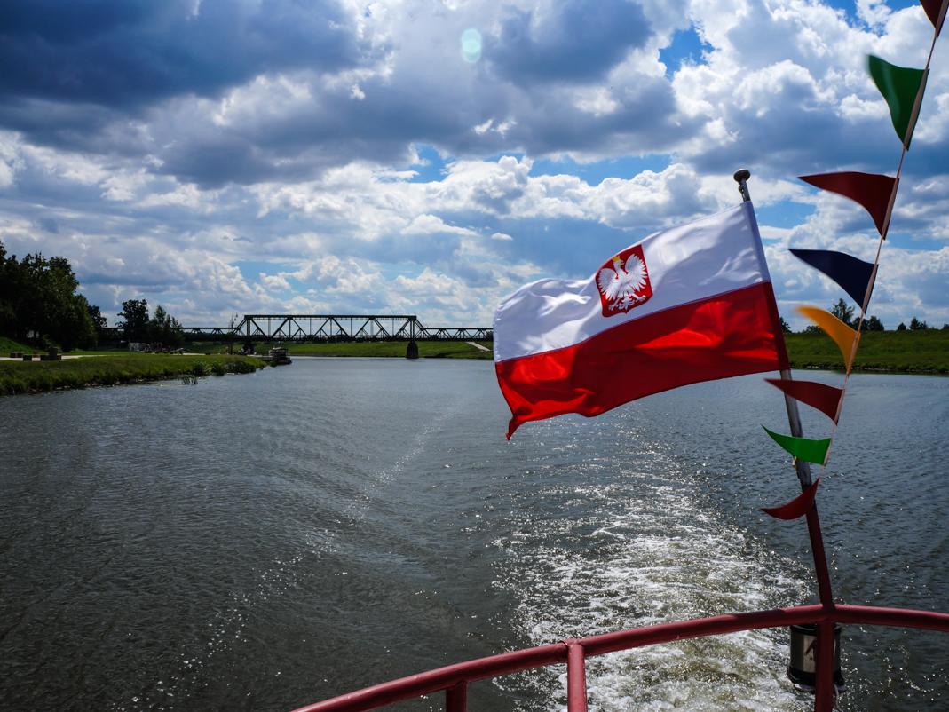 Opole widziane z Odry