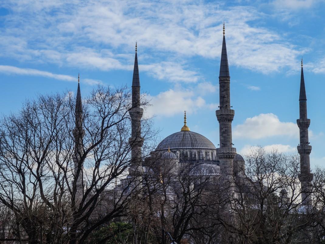 Błękitny Meczet. Stambuł atrakcje