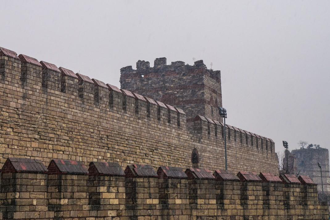 Mury Teodozjusza. Stambuł zabytki