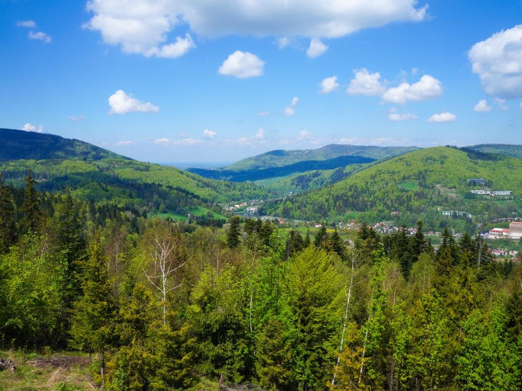 Wisła: dolina i góry pełne atrakcji