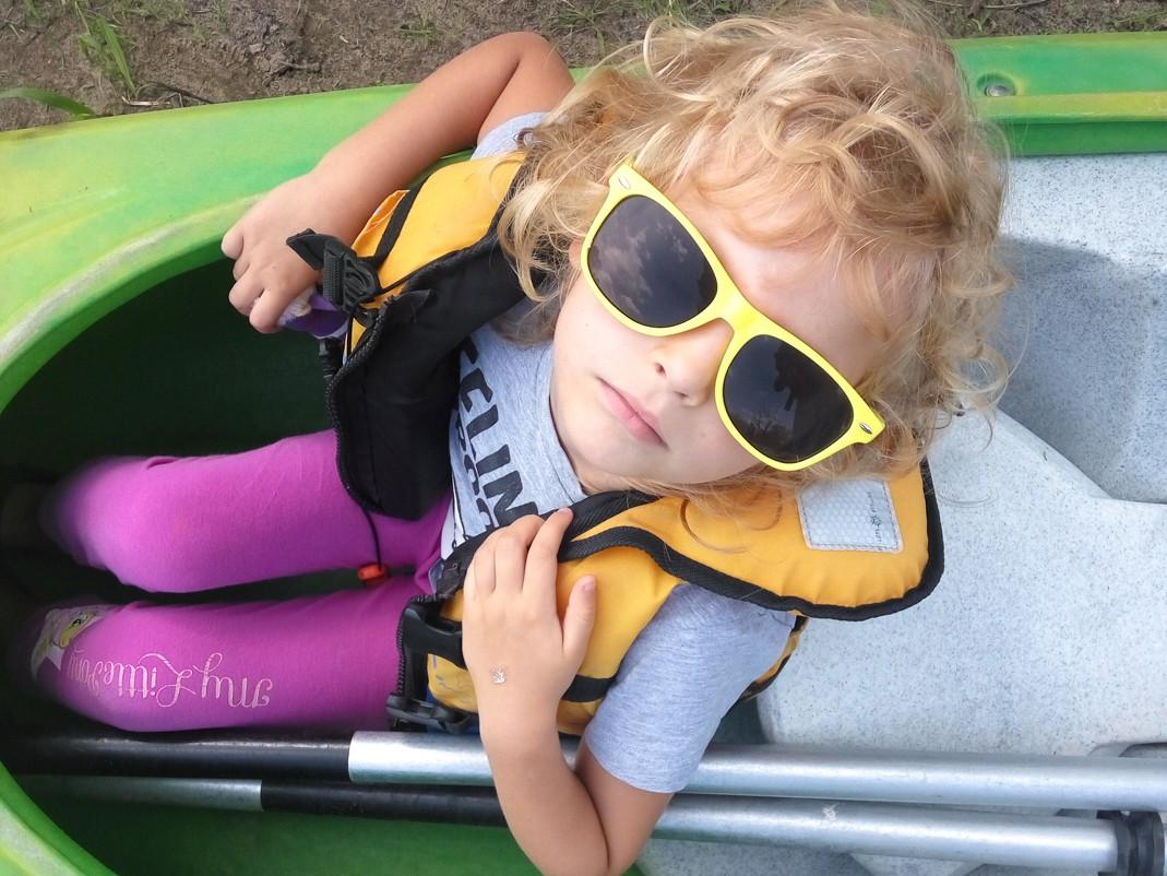 Spływ kajakowy Pilicą, czyli do czego przydają się dzieci