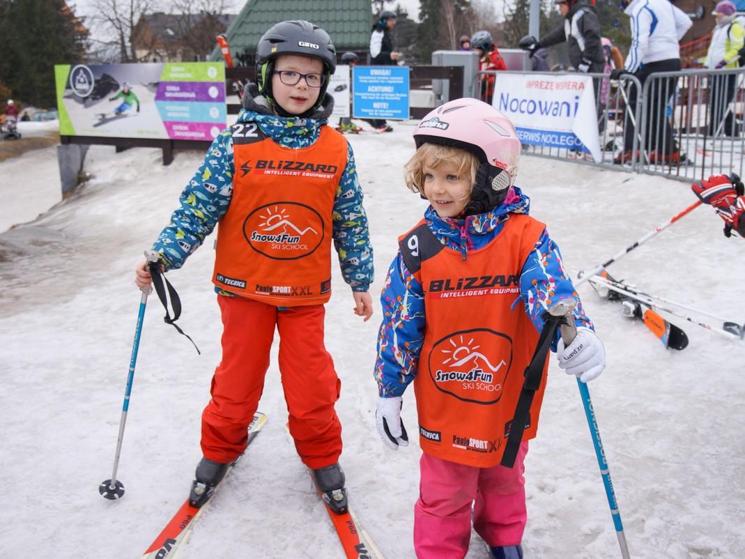 Szrenica. Przedszkole narciarskie w Szklarskiej Porębie