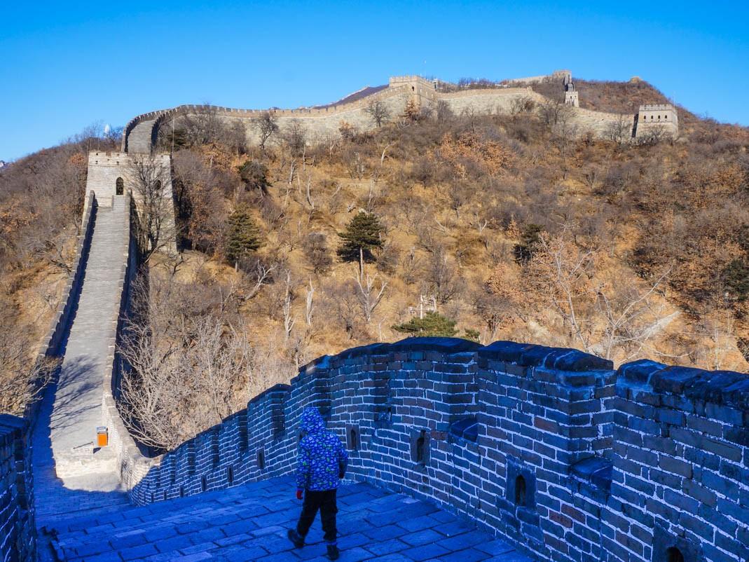 Przesiadka w Pekinie. Wielki Mur Chiński - Mutianyu