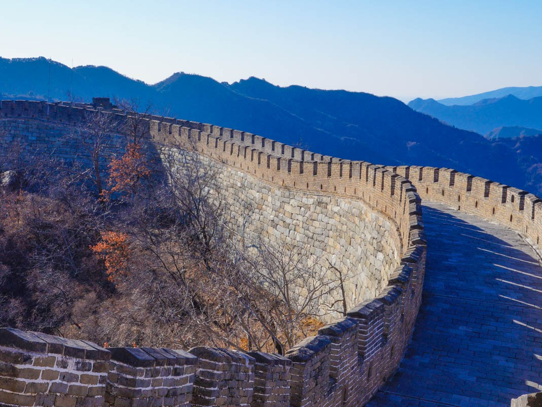 Przesiadka w Pekinie. Wielki Mur Chiński