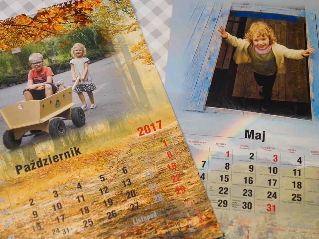 Personalizowany kalendarz ścienny - dobry pomysł na prezent