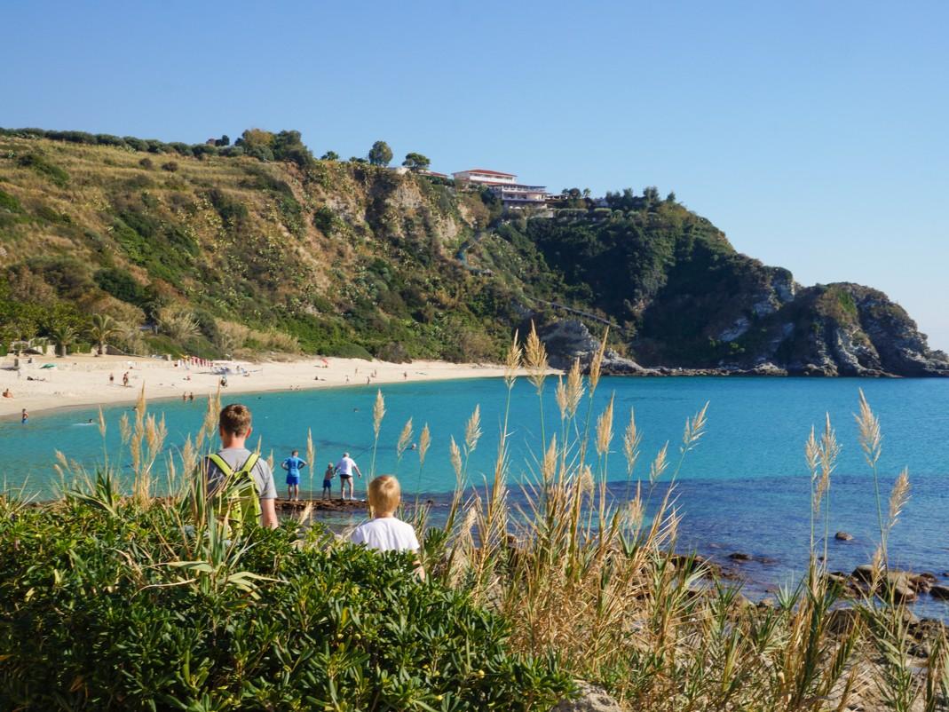 Zachodnie wybrzeże Kalabrii. Najpiękniejsze plaże. Capo Vaticano