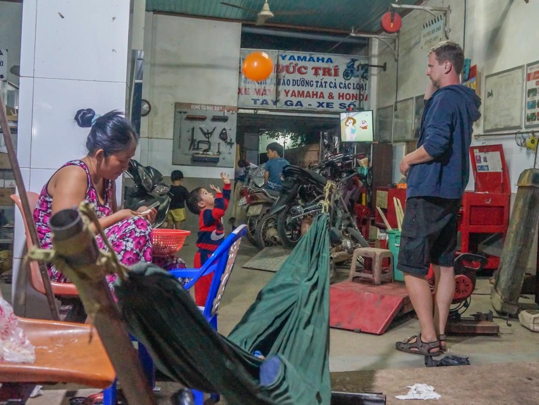 Skuterem po Wietnamie