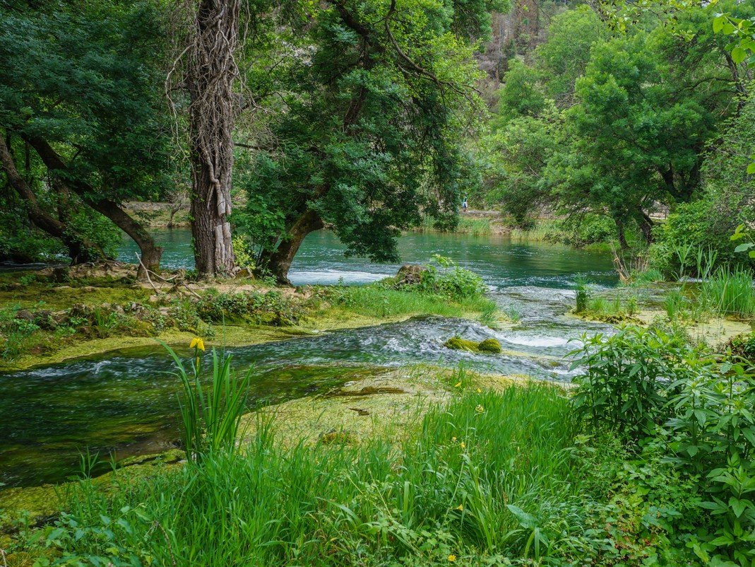 Park Narodowy Krka. Ścieżka do wodospadu Skradinski Buk