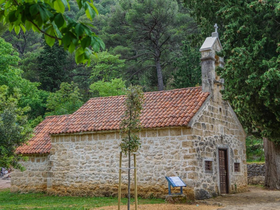 Park Narodowy Krka. Kościół św. Mikołaja