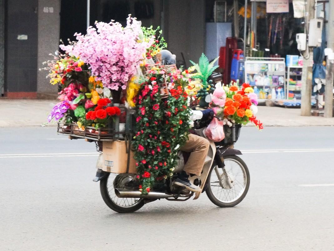 Skuter w Wietnamie