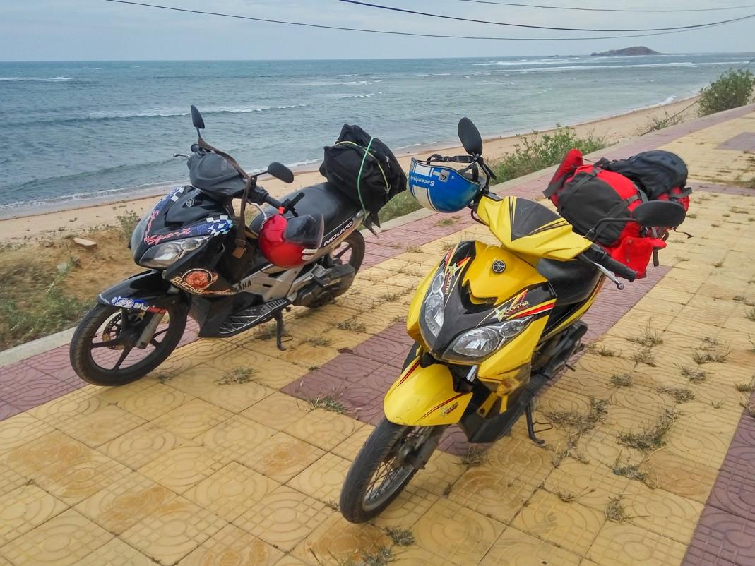 Skuterem w Wietnamie