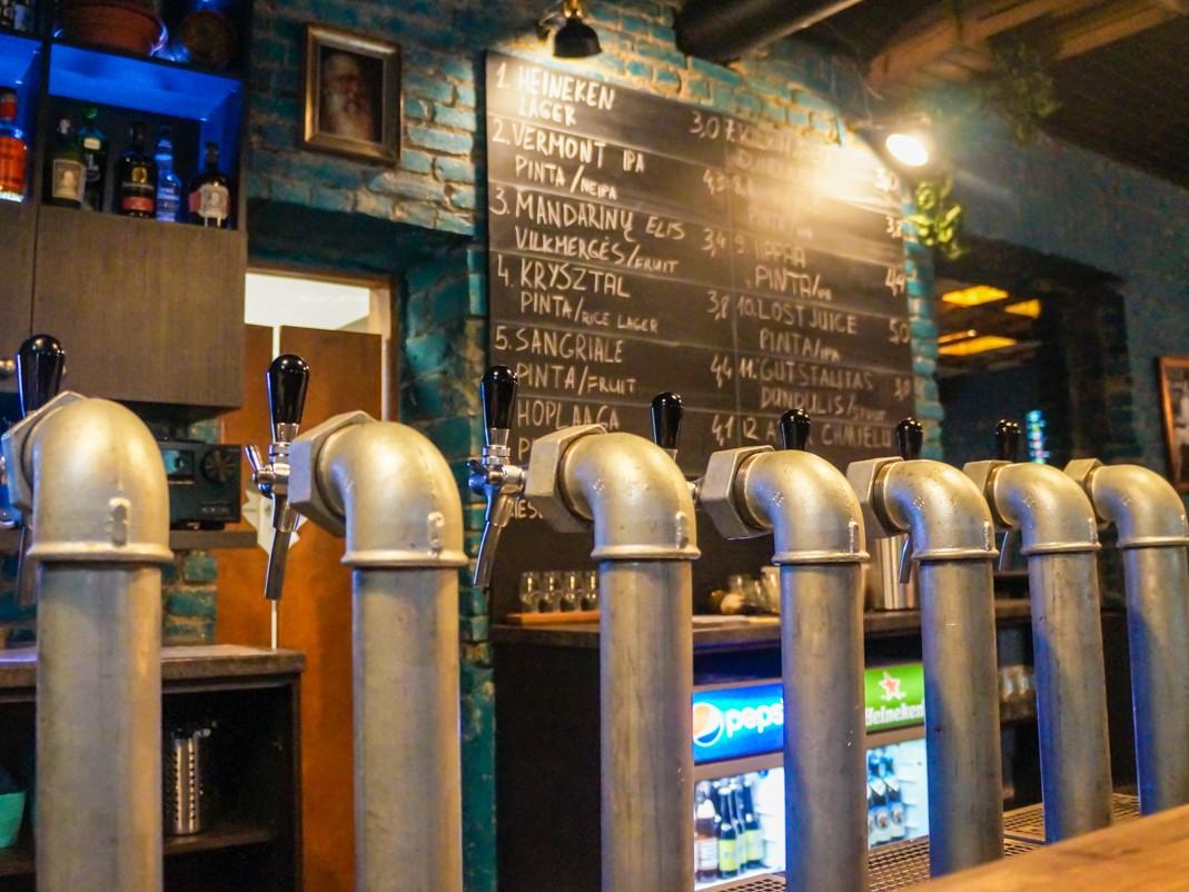 Local Pub. Gdzie na piwo w Wilnie. Przewodnik po wileńskich barach