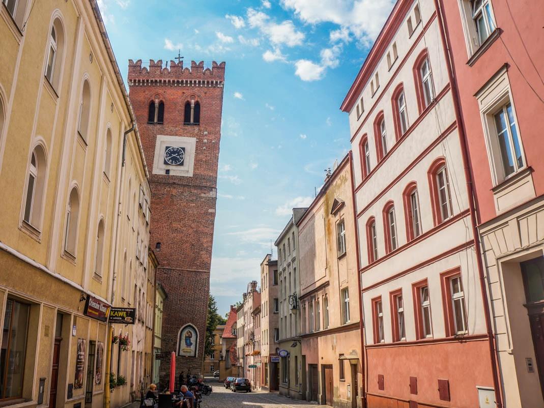Atrakcje Ząbkowic Śląskich. Krzywa wieża