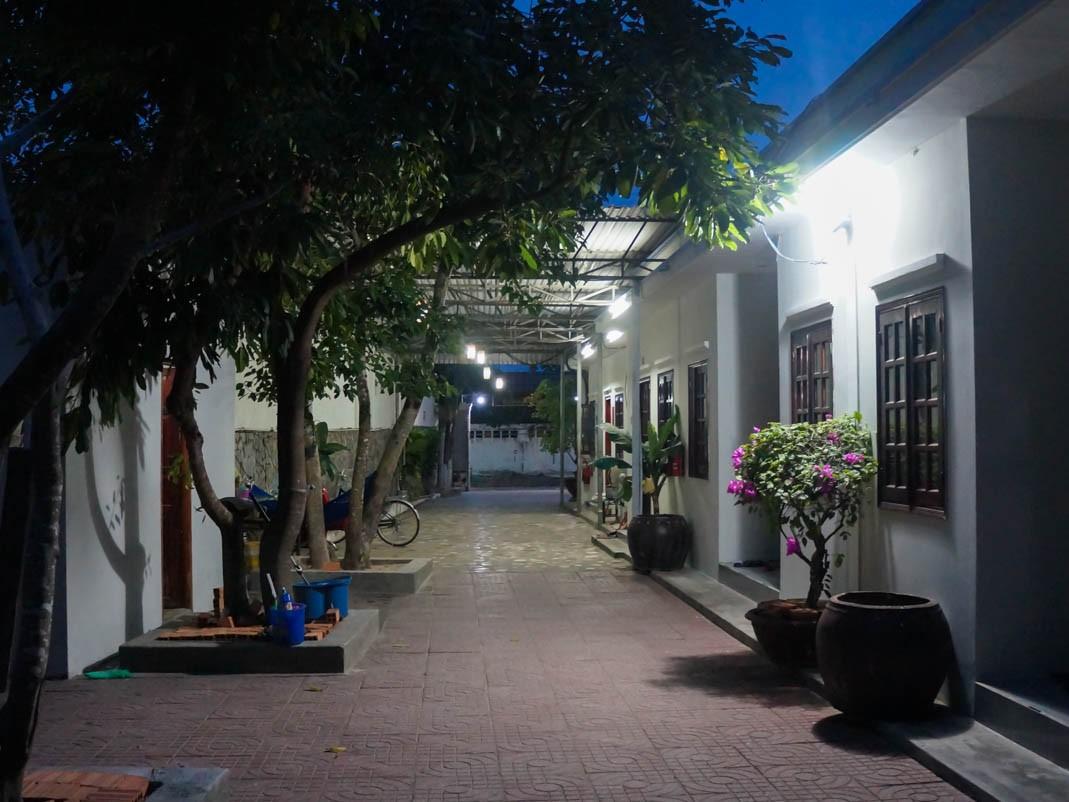 Wietnam. Hotel Hoa Bien w Ho Tram