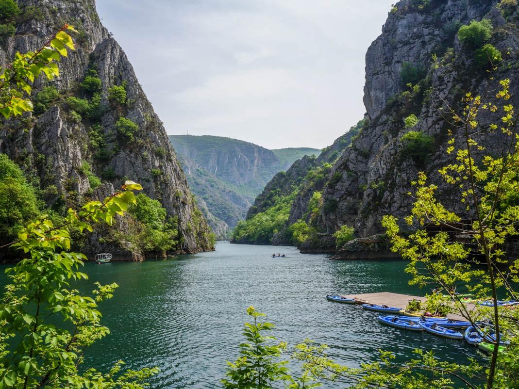 Kanion Matka, Skopje, Macedonia