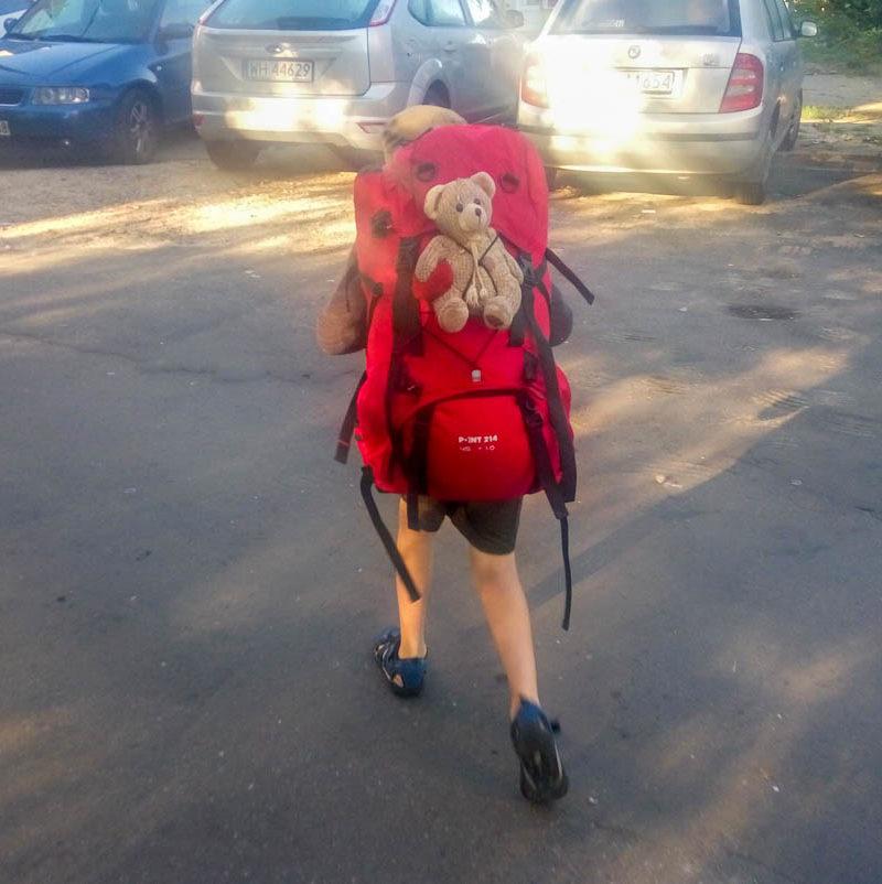 Jak spakować dziecko na obóz lub kolonie?
