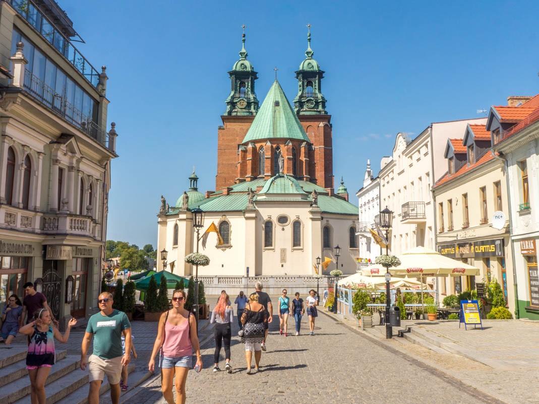 Szlak Piastowski - Gniezno. Katedra gnieźnieńska