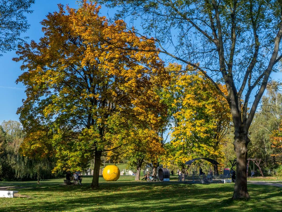 Kraków z dziećmi na pogodę: Ogród Doświadczeń