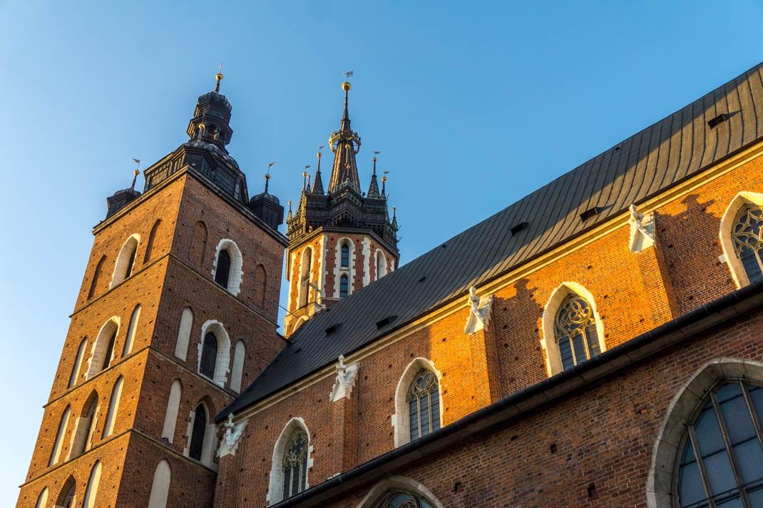Atrakcje Krakowa. Bazylika Mariacka