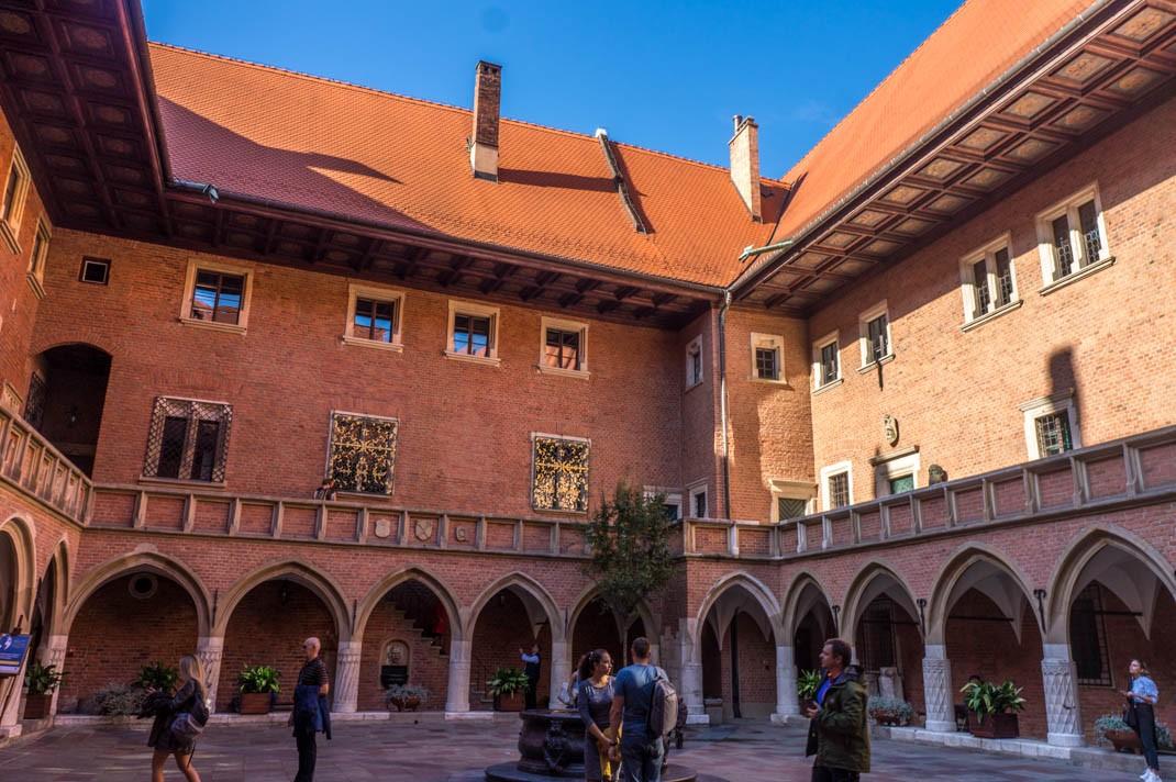 Spacer po Krakowie - Collegium Maius
