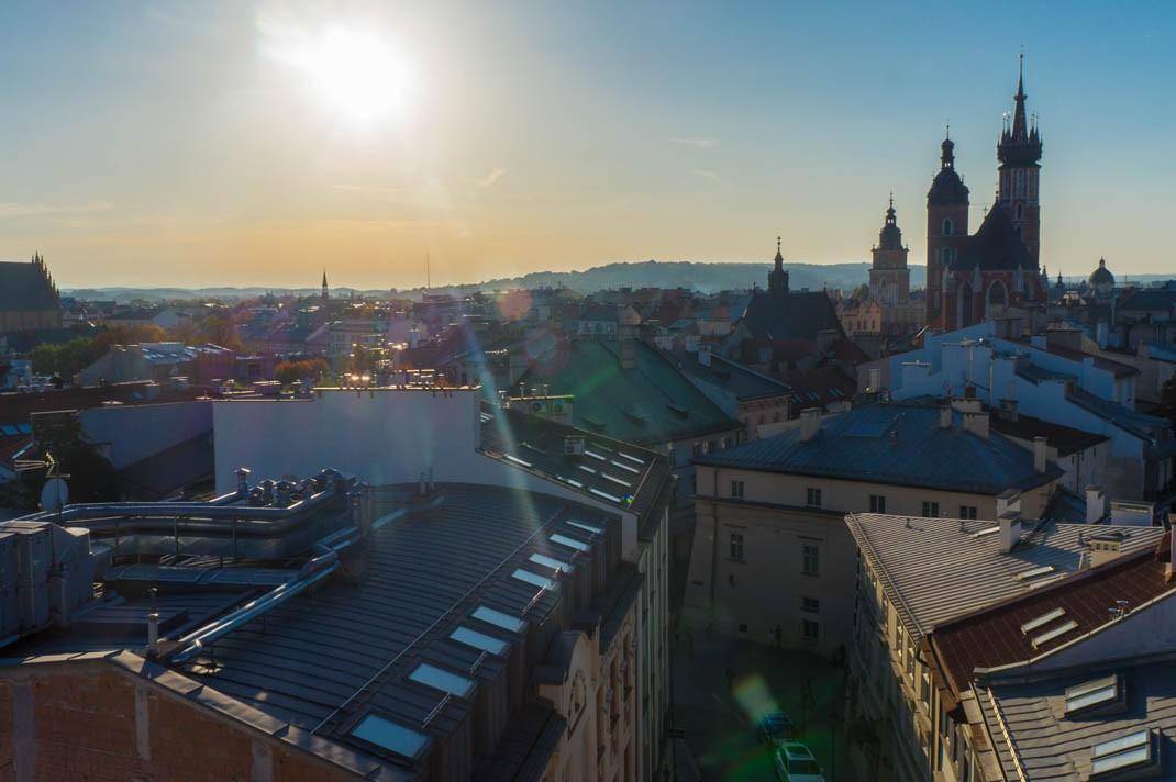 Punkt widokowy w Krakowie
