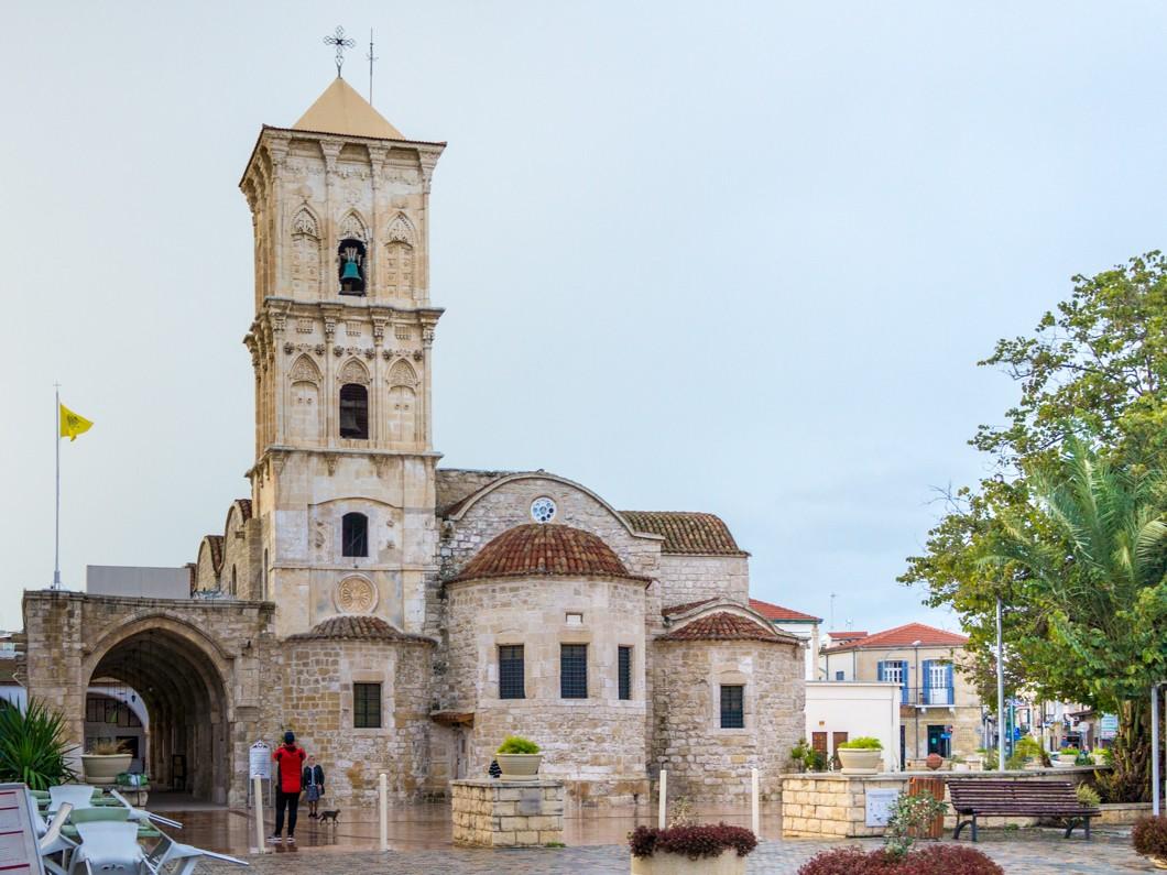 Atrakcje Larnaki. Cerkiew św. Łazarza