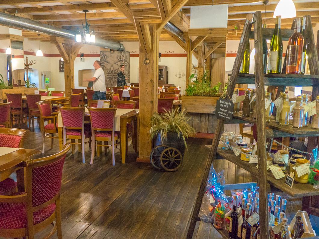 Restauracja Zamkowy Młyn, Krapkowice