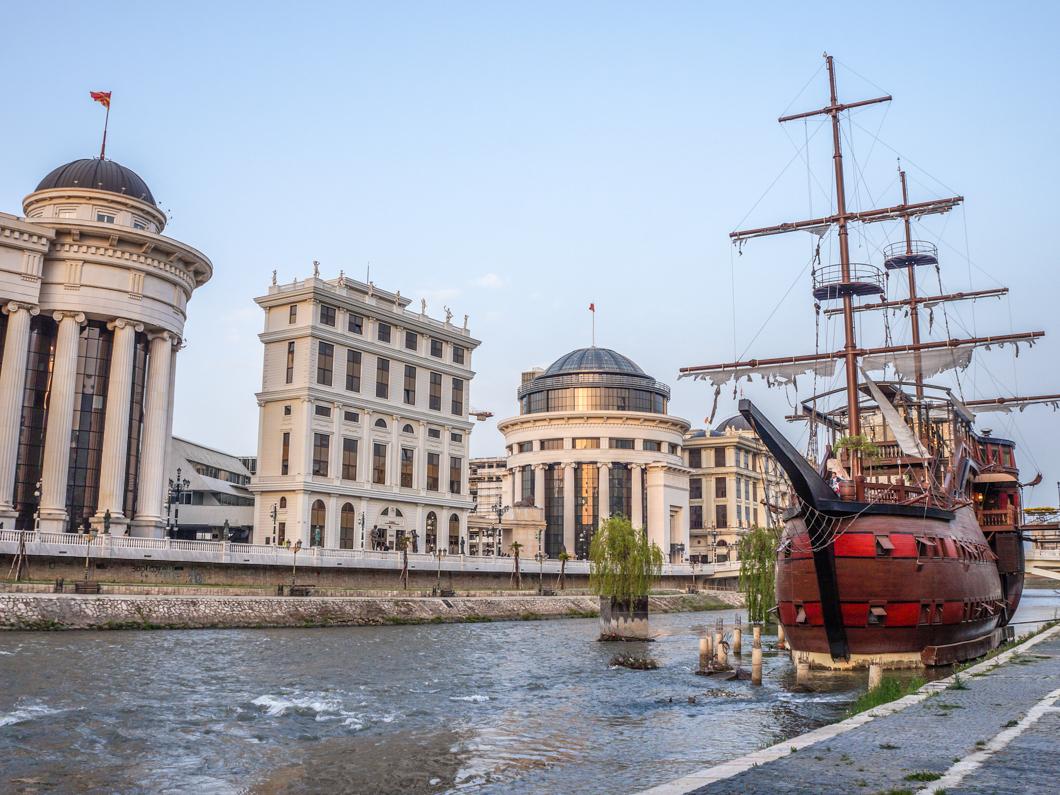 Skopje, czyli posklejana stolica