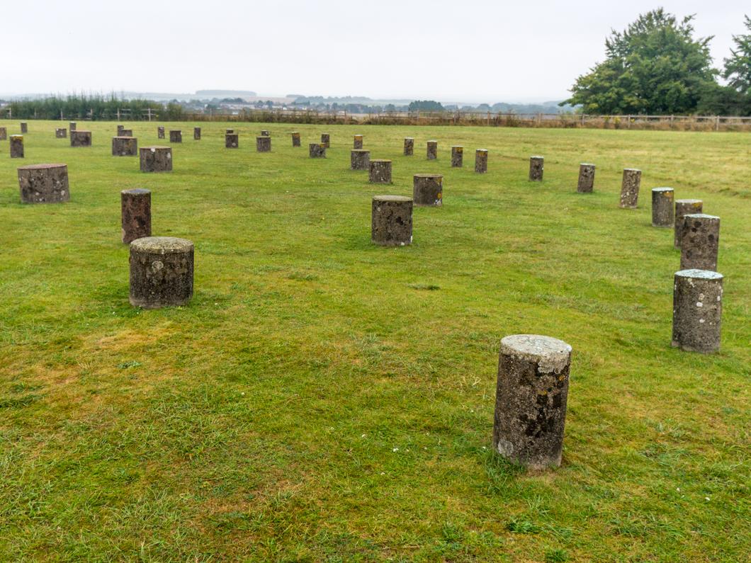 Woodhenge, drewniany krąg obok Stonehenge
